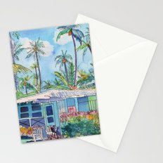 Kauai Blue Cottage 2 Stationery Cards