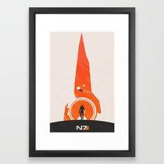 Mass Effect (v. 2) Framed Art Print