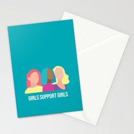 Girls support Girls Stationery Cards