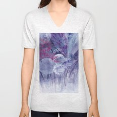 blooming universe Unisex V-Neck