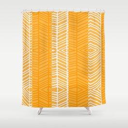 Gold Herring Shower Curtain