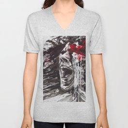 The Pain of Cluster Headache Unisex V-Neck
