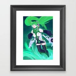 Vn02 Miku Framed Art Print