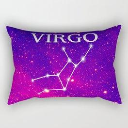 Starry Virgo Constellation Rectangular Pillow
