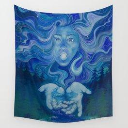 Moon Goddess Wall Tapestry