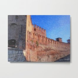 OldCastle Verona Metal Print