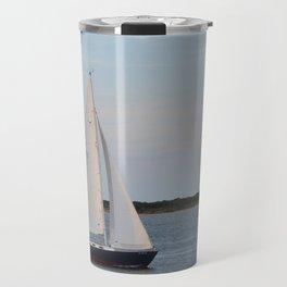 Nantucket Sail boat Travel Mug