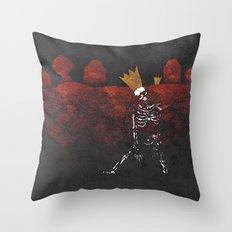 King Nothing Throw Pillow