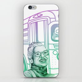 Rosa Parks, Courageous Woman iPhone Skin