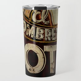Vintage El Sombrero Motel Sign Travel Mug
