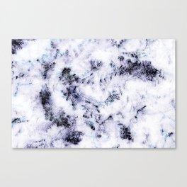 Purple Snow Canvas Print