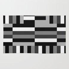 Black White and Gray Rug