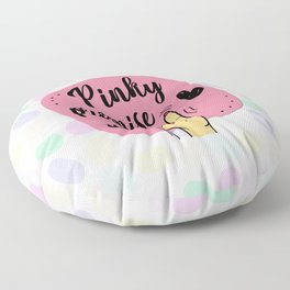 Pinky promise Floor Pillow