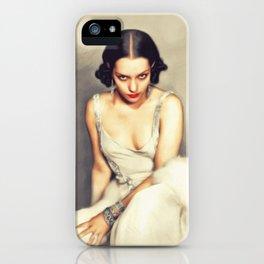 Lupe Velez, Vintage Actress iPhone Case