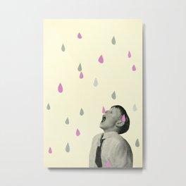 Taste the Rain Metal Print