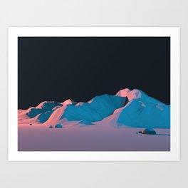 Night Lands VH16 Art Print