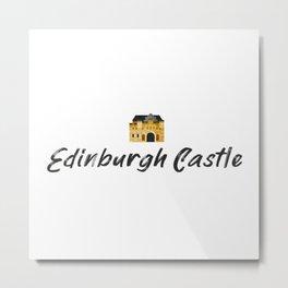 Edinburgh Castle souvenir Metal Print