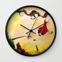 Rebuked Retribution Wall Clock