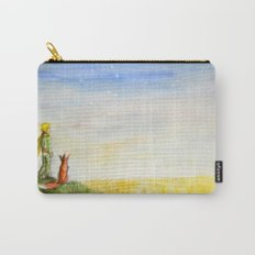 Little Prince, Fox and Wheat Fields Carry-All Pouch