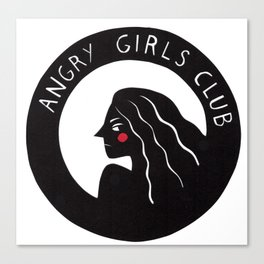 Angry Girls Club Canvas Print