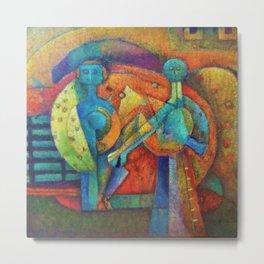 Two Figures by Rufino Tamayo Metal Print