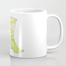 Crazy Cowgirl Boots Coffee Mug