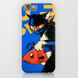 Neko Ninja iPhone Case