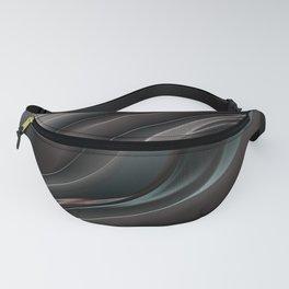 Black glass pattern Fanny Pack