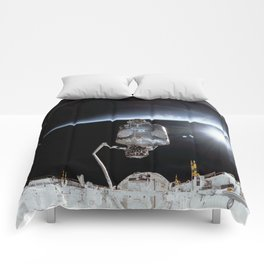 NASA International Space Station Comforters