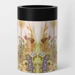 Pink Garden mirrored Can Cooler