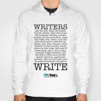 write Hoodies featuring WRITERS WRITE! by John Kovalic