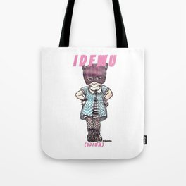 I D F W U Tote Bag