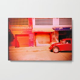 Punchbuggy Red Metal Print