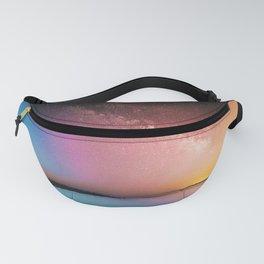 Rainbow Galaxy Fanny Pack