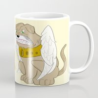 thor Mugs featuring Thor by QUED