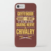 gryffindor iPhone & iPod Cases featuring Gryffindor by Dorothy Leigh