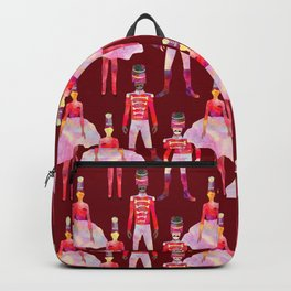Nutcracker Ballet - Berry Red Backpack