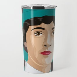Agatha Christie Travel Mug