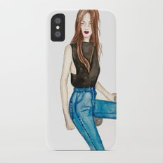 I am I am I am iPhone X Slim Case