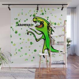 The Dinosaur says... RRRROOOWWRRR! Wall Mural