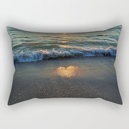 Yes, the Ocean Knows Rectangular Pillow