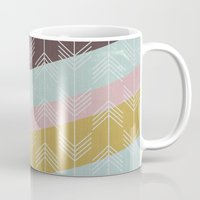 arrows Mugs featuring arrows by Emma S