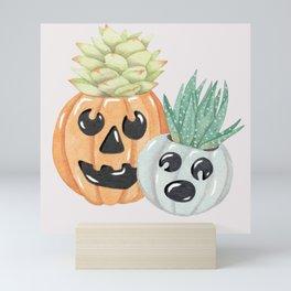 Jack O' Lanterns Mini Art Print
