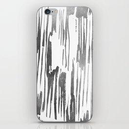 Modern Stripes Gray iPhone Skin
