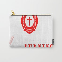 Jesus the original firefighter Carry-All Pouch