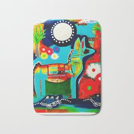 Mexican Love Bath Mat