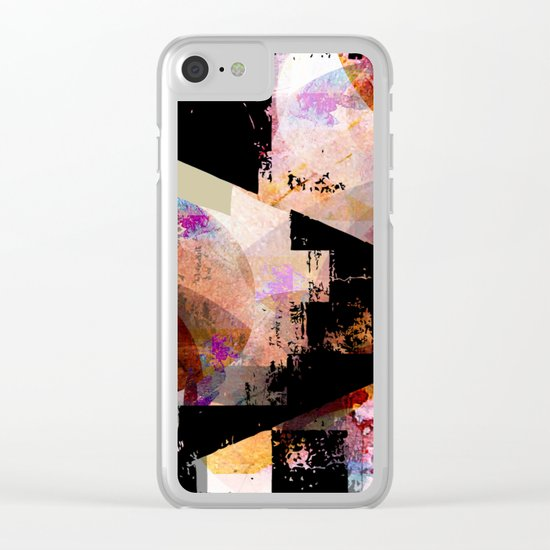form idable Clear iPhone Case
