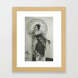 Nouveau love. #2 Framed Art Print