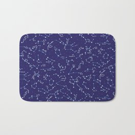 Night Sky Bath Mat
