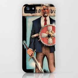 Conquest of the Meek iPhone Case